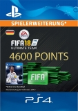 FIFA 18 Ultimate Team (4600 Points) [Deutschland] [PS4 Code]