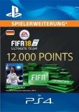 FIFA 17 Ultimate Team (12000 Points) [Deutschland] [PS4 Code]