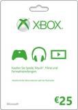 XBox Live Guthaben (25 Euro) [Code]