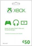 XBox Live Guthaben (50 Euro) [Code]
