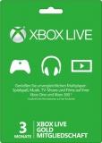 XBox Live Gold Mitgliedschaft (3 Monate) [Code]