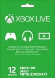 XBox Live Gold Mitgliedschaft (12 Monate) [Code]