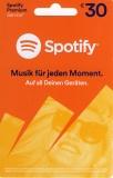 Spotify Guthaben (30 Euro) [Code]