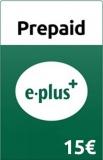 E-Plus Prepaid Guthaben [15 Euro]