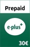 E-Plus Prepaid Guthaben [30 Euro]